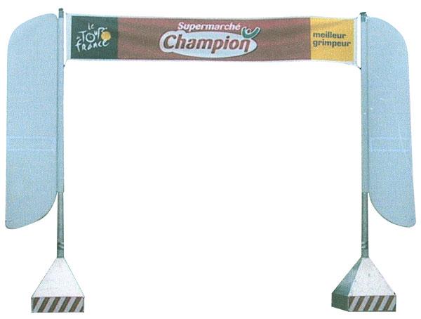 Panneau publicitaire Tour de France